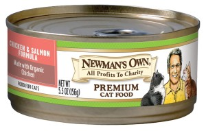 Newman's own cat food